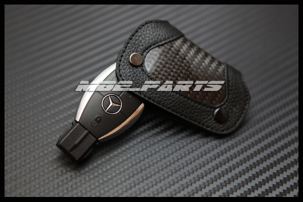 Mercedes benz amg carbon remote key cover holder w219 w207 for Mercedes benz key holder