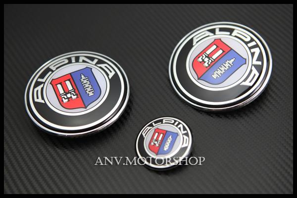 hood trunk emblem badge for bmw alpina e30 m3 e34 m5 e36. Black Bedroom Furniture Sets. Home Design Ideas