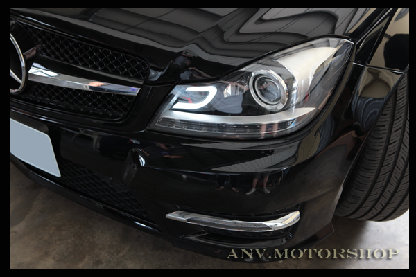 "San Francisco Mercedes >> 2012-2013 W204 Aftermarket Projector Headlights - with the ""C"" LED - MBWorld.org Forums"