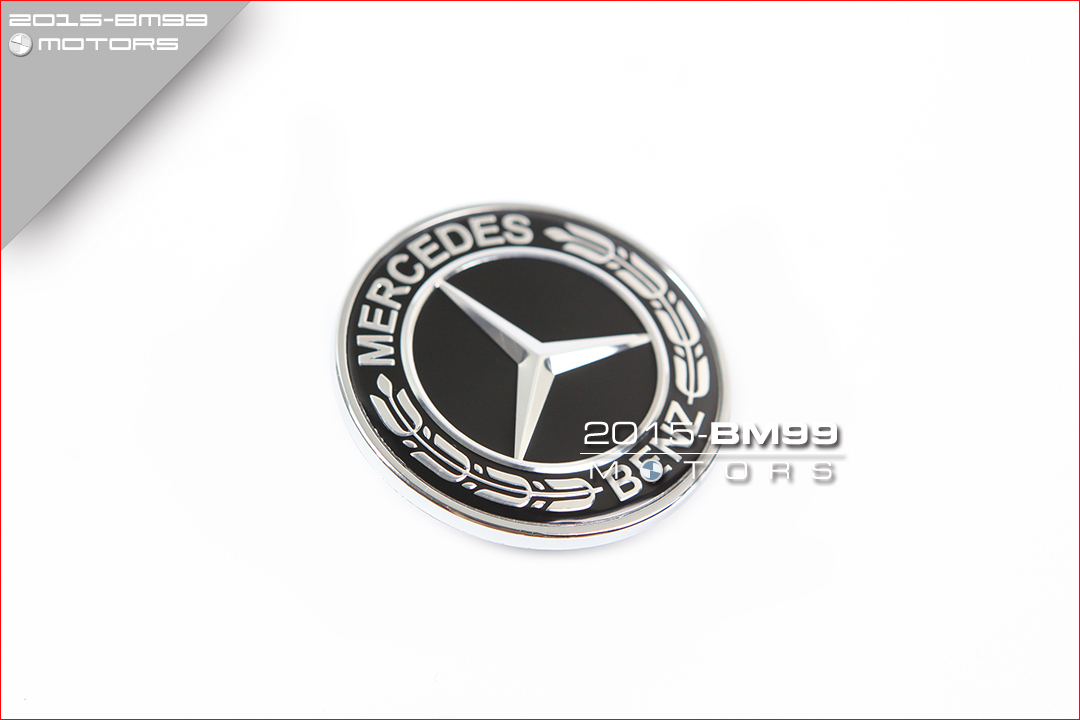 NEW AMG Flat hood emblem badge kit for W204 W205 C-class and W212 E-class