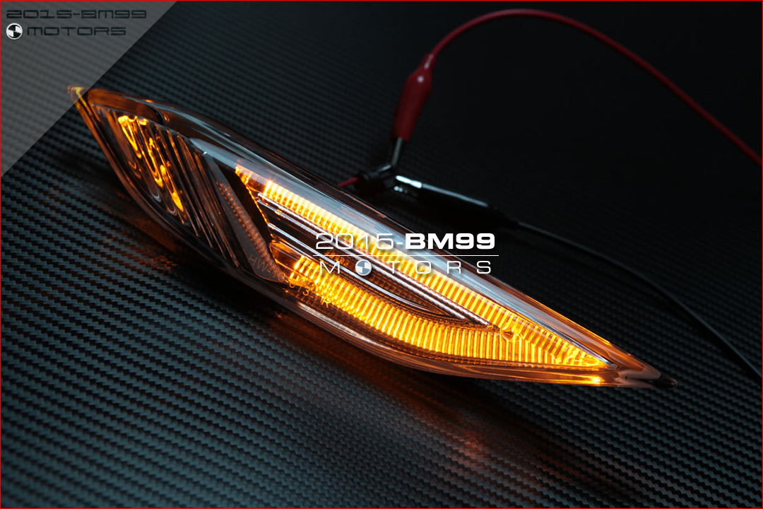 Amber Led Indicators Lights Side Markter Lamps Porsche Cayenne S Turbo Gts 958 Ebay